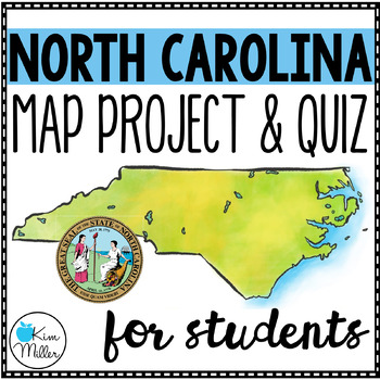 North Carolina County Map Project & Quiz