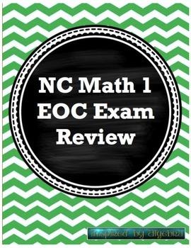 North Carolina EOC Math 1 Test review