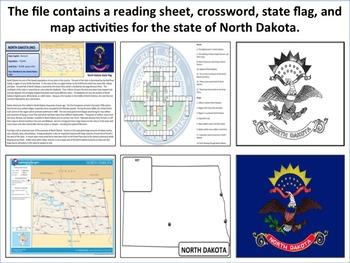 North Dakota - State Activity Set