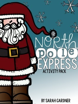 North Pole Express Activity Pack