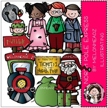 North Pole Express by Melonheadz COMBO PACK