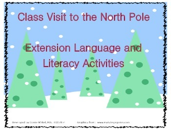 North Pole Language/Literacy Worksheets