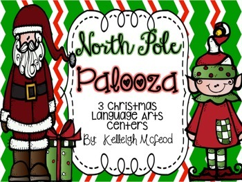 North Pole Palooza Christmas Centers