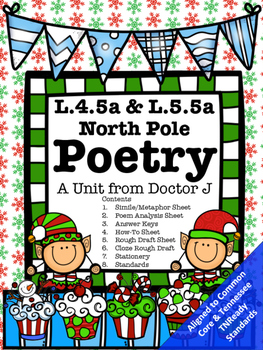 L4.5a L5.5a Holiday Poetry Similes and Metaphors Common Co