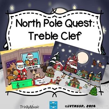 North Pole Quest: Treble Clef Test