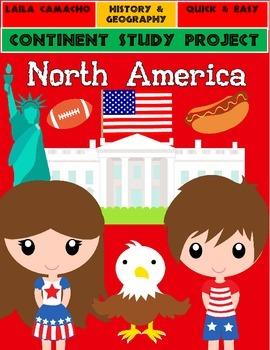 North America: Continent Project