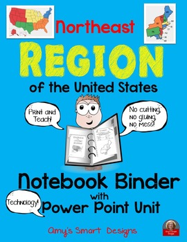 Northeast Region PowerPoint and Notebook Binder Pages