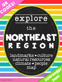 Northeast Region QR Code Exploration