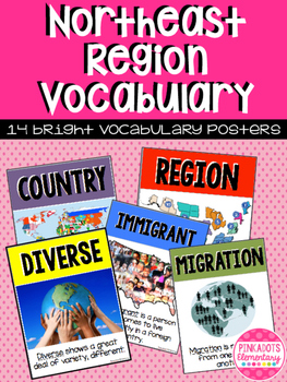 Northeast Region: Social Studies/Geography 13 Vocabulary P