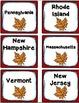 Northeast Region States and Capitals Task Cards {Four Regi