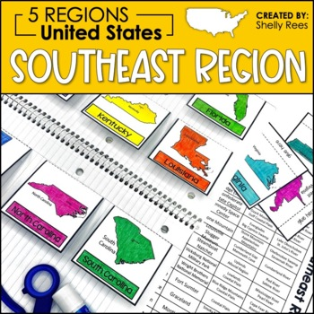 Regions of the United States - Southeast Region
