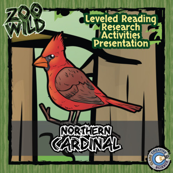 Northern Cardinal -- 10 Resources -- Coloring Pages, Readi