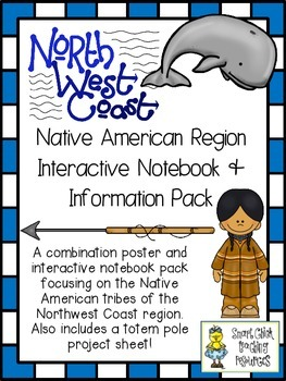 Northwest Coast Native Americans ~ Posters, Project Idea,
