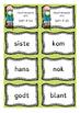 Høyfrekvente ord - Slå klokka; Sett #3 (BM & NN)
