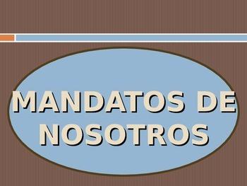 Nosotros Commands