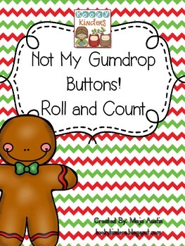 Not My Gumdrop Buttons! Roll and Count