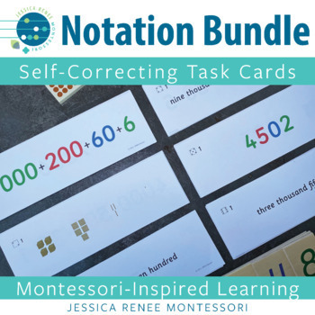 Place Value Notation Cards: All 6 Sets