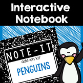 Note It! Penguins Interactive Notebook Kit