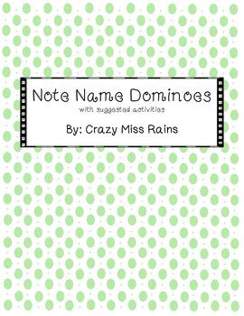 Note Name Dominoes