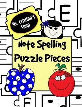 Note Naming Puzzle Pieces