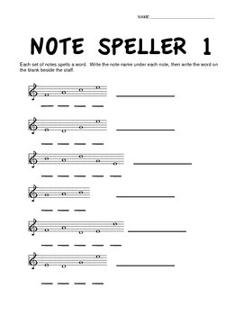 Note Speller Bundle