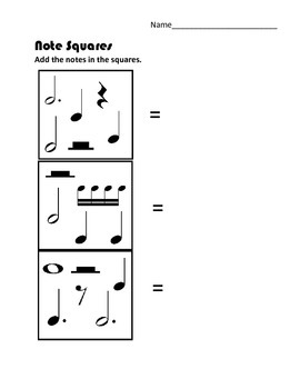 Note Squares