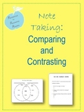 Note Taking: Comparing and Contrasting