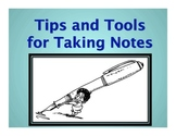 Note Taking Tools and Skills