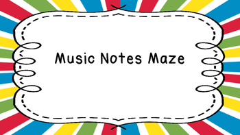 Note Value Maze