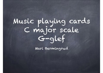 Note game - C major - G clef