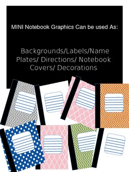 Notebook Graphics Patterned Backgrounds (18)