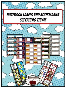 Notebook Labels and Bookmarks