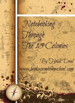 Notebooking Through The 13 Colonies