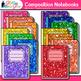 Notebook & Binder Clip Art Bundle {Rainbow Back to School
