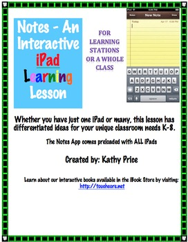 Notes - An Interactive iPad Learning Station
