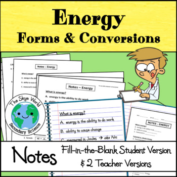 Notes - Energy
