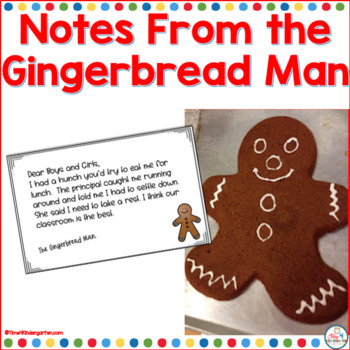 Notes From the Gingerbread Man