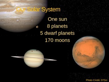 Notes on our solar system