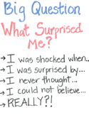 Notice & Note Non-Fiction Big Questions Anchor Charts
