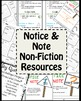 Notice & Note - Non Fiction Resources
