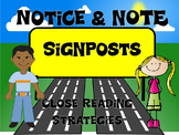 Notice and Note Signposts Close Reading Strategies PowerPo
