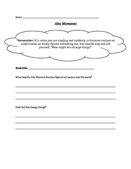 Notice and Note Strategies Organizers