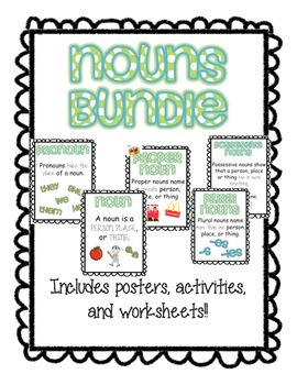 Noun Activities Bundle