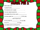 Noun, Adjective, Verb Christmas Fill In
