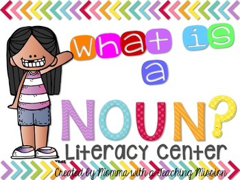 Noun Literacy Center L.1.1