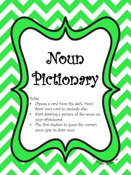 Noun Pictionary