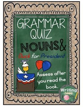 Noun Quiz based on Duck for President