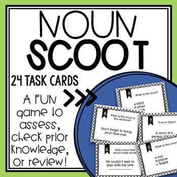 Noun Scoot/Task Cards + Poster