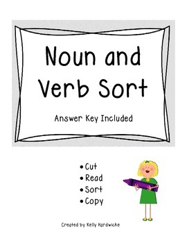 Noun and Verb Sort