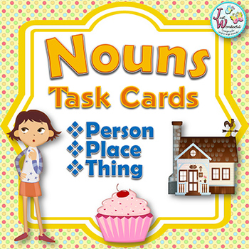 Nouns - Task Cards